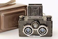 SPUTNIK STEREO Medium format Camera Vintage Soviet USSR