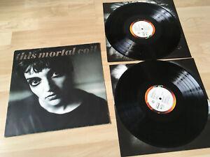 THIS MORTAL COIL BLOOD 2 LPS ORIGINAL VINYL 1991 VG+