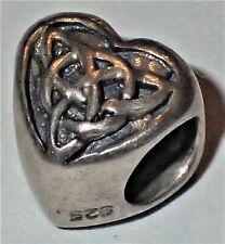 925 Sterling Silver Bead ADD ON TO EUROPEAN STYLE & PANDORA BRACELETS 1.48 Grams