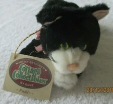 """Ganz Cottage Collectibles """"Puddy""""  Plush Cat by Mary Holstad"""