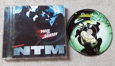 """CD AUDIO DISQUE FR/ SUPRÊME NTM """"PARIS SOUS LES BOMBES"""" CD ALBUM 1996 EPIC"""
