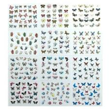 Decor Diy Manicure Butterfly Nail Sticker Holographic Art Stickers Nail New G1P4