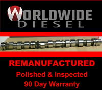 Cummin ISX Injector Camshaft, P/N: 3683658 *REMANUFACTURED*