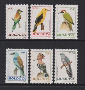 Moldova - 1992, Birds set - M/M - SG 19/24