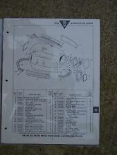 1964 Johnson 90 HP Outboard V4M V4ML Parts Catalog MORE BOAT ITEMS IN STORE  L