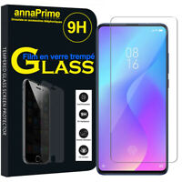 "Lot/ Pack Film Verre Trempé Protecteur Écran Xiaomi Mi 9T/ Mi 9T Pro 6.39"""
