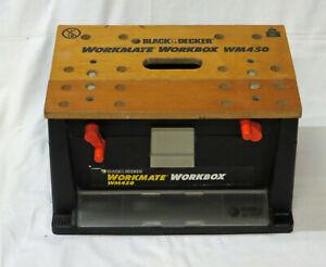 Black and Decker Workbox WM450, Workmate, DIY, Tools