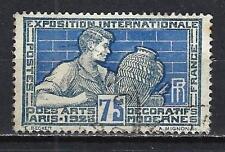 France 1924 arts décoratifs Yvert n° 214 oblitéré 1er choix (2)
