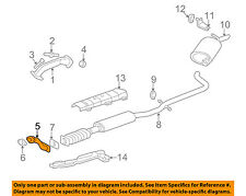 GM OEM Exhaust System-Front Pipe 10371540