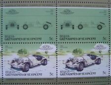 1968 EXCALIBUR ROADSTER Classic Car 50-Stamp Sheet Auto 100 Leaders of the World
