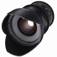 Samyang VDSLR II 24mm T1.5 Cine Wide Angle Lens for Sony Alpha A Mount declicked