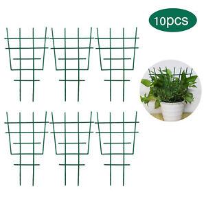 10 Stück Rankgitter Rankstütze Pflanzengitter Kletterhilfe Blumenstütze Garten