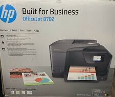 Hp Officejet 8702 All-in-One Printer Wireless* Print Fax Scan Copy with Ink