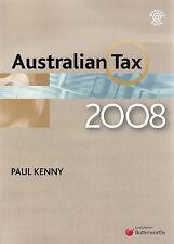 Australian Tax: 2008 by Paul Kenny (Paperback, 2008)