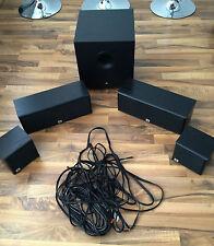 JBL AUDIO BOXEN SCS 75 SUBWOOFER BASS FLEX 10 CENTER LAUTSPRECHER