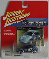"Johnny Lightning – VW New Beetle blaumetallic ""TVA"" Neu/OVP"