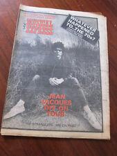 NME 10/8/77 Stranglers Iggy Pop Howard Devoto