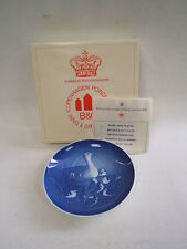 Bing & Grondahl 1973 Mothers Day 8000/9373 Ducks Porcelain Collector Plate