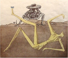 Salvador Dali The Heart of Madness SIGNED Cooperative Etching Authentic OBO!
