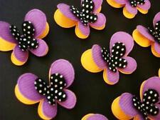 30 Halloween Color Felt Butterfly Applique/Trim/Craft/orange/purple/black D17