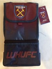 West Ham United FC Football Club Official Soccer Fade School Lunch Box Cool Bag