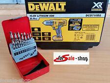 DeWalt dcd710d2 Lithium ion 10,8v 2,0ah taladro + gratis bohrset 1 - 10