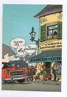 Carte Postale Trésors du Journal de Spirou n°44. Couverture allbum 62. FRANQUIN
