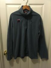 Men's Large Fleece Black Mountain Marathon Mitchel Challenge Blue