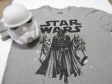 New - Collectible Storm Trooper figure, Mens Star Wars T-Shirt inside size-small