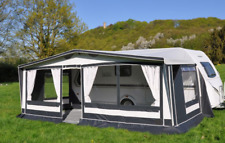 Hahn Vorzelt Oslo Gr. 10 Uml. 1016-1050 cm Sonderedition Wohnwagen Camping Zelt