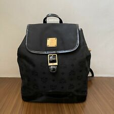 Pre Owned Authentic MCM Nylon Backpack