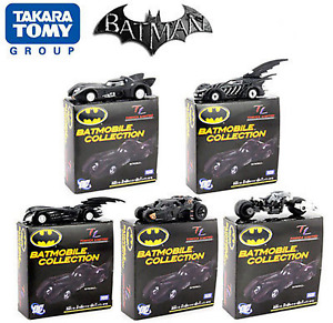 Tomica Takara Tomy BATMAN BATMOBILE COLLECTION SET Of 5 Diecast Models 1:48