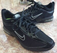 Nike Air Trainer Essential Black Mesh Sneaker Shoe Sz 6 Women