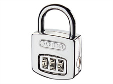 ABUS Mechanical-160/40 Steel Case Combination Padlock (3-Digit) Job Lot of 4