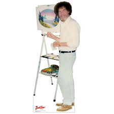 BOB ROSS The Joy of Painting CARDBOARD CUTOUT Standup Standee Poster PBS F/S