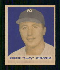1949  BOWMAN  # 165  SNUFFY STIRNWEISS    18131