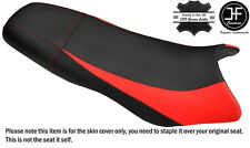 STYLE 2 BLACK & B RED CUSTOM FITS SEADOO GSX GS RFI 96-04 VINYL SEAT COVER STRAP