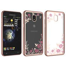 For Samsung Galaxy J3 2018 J337 Phone Slim Single Hard Back Pattern Case Cover