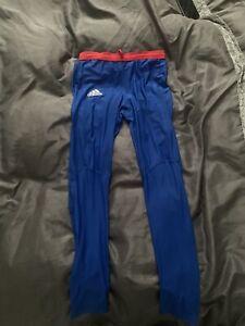 mens adidas running leggings 34 Waist 99p Start Good Condition