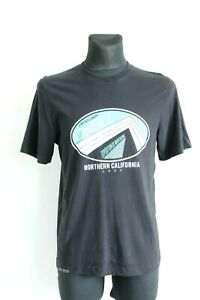 O'Neill BNWT 29 Black Expedition Short Sleeve with Design T-Shirt Size S