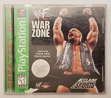 WWF War Zone - Playstation - Greatest Hits CIB