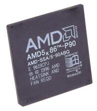CPU AMD K5 AMD -ssa / 5-90abq 90 MHZ S.7 L1 Cache 16 KB