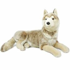 Winry The Wolf - 27 Inch (Not Including Tail Length) Plush - by Tiger Tale Toys