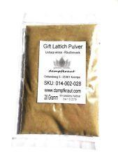 30 Gramm Gift Lattich Pulver (Wild Lettuce) (Lactuca virosa)