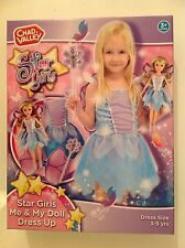 New Star Girls Me & My Doll Dress Up Fairy Costume And Doll. Fairy Dress Age 3-5
