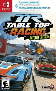 Table Top Racing World Tour Nitro Edition (Code in Box) Nintendo Switch Game