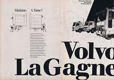 Publicité Advertising 016 1985 Volvo camion le nouveau FL (2 pages)