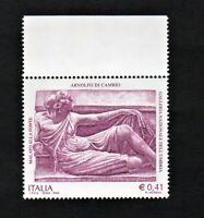 francobollo repubblica italiana 2002 Arnolfo di Cambio mh nuovo