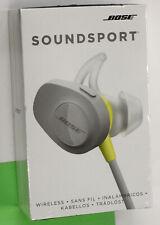 Bose SoundSport Bluetooth Wireless Earbuds Citron