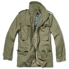 Brandit - M65 Standard Feldjacke, Parka US Style Jacke mit Futter